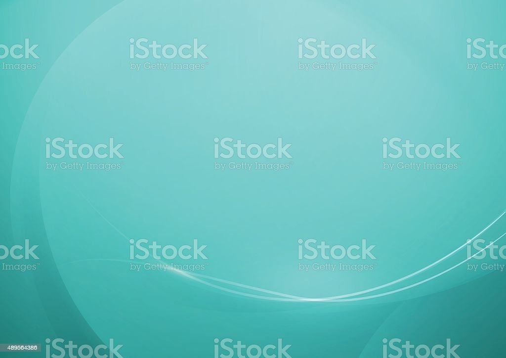 Abstract Turquoise Background for Design vector art illustration