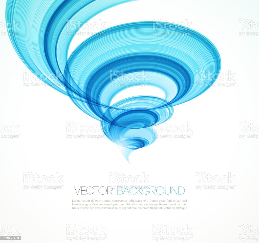 Abstract twist line  background. Template brochure design vector art illustration