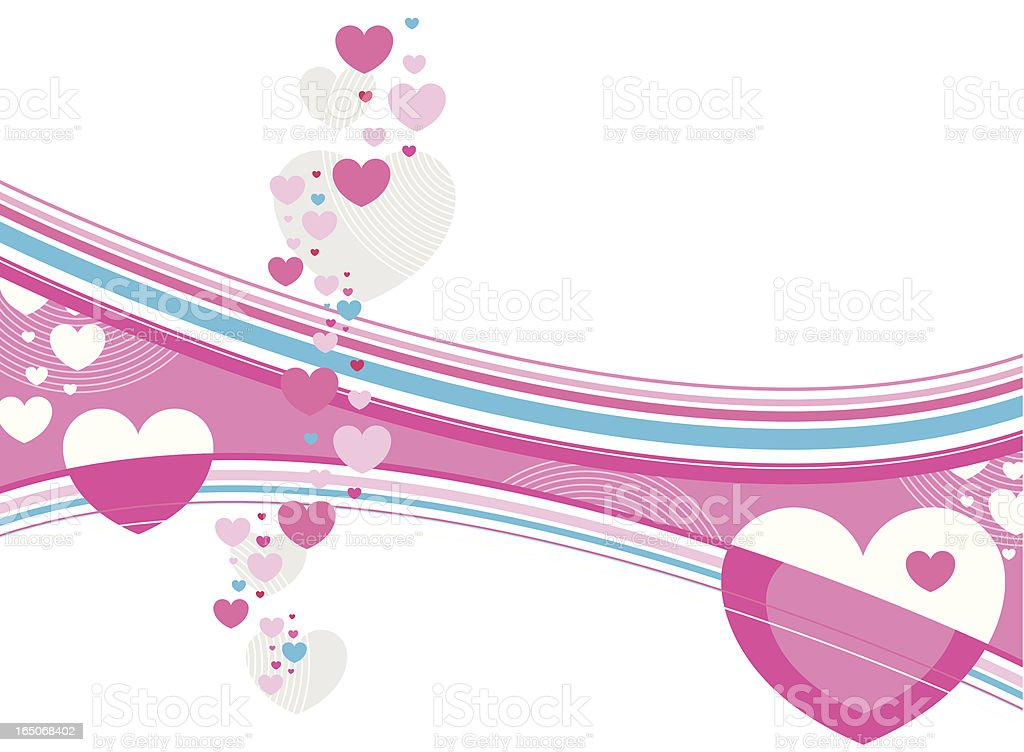 Abstract Valentine royalty-free stock vector art