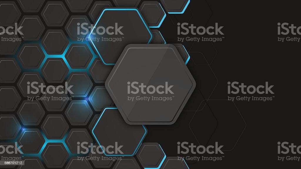 Abstract vector background or pc desktop wallpaper. vector art illustration