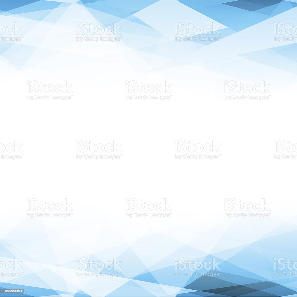 Abstract vector background with blue fading to white vector art illustration