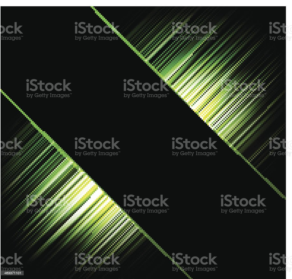 Abstract vector backgrounds. Rays of light vector art illustration