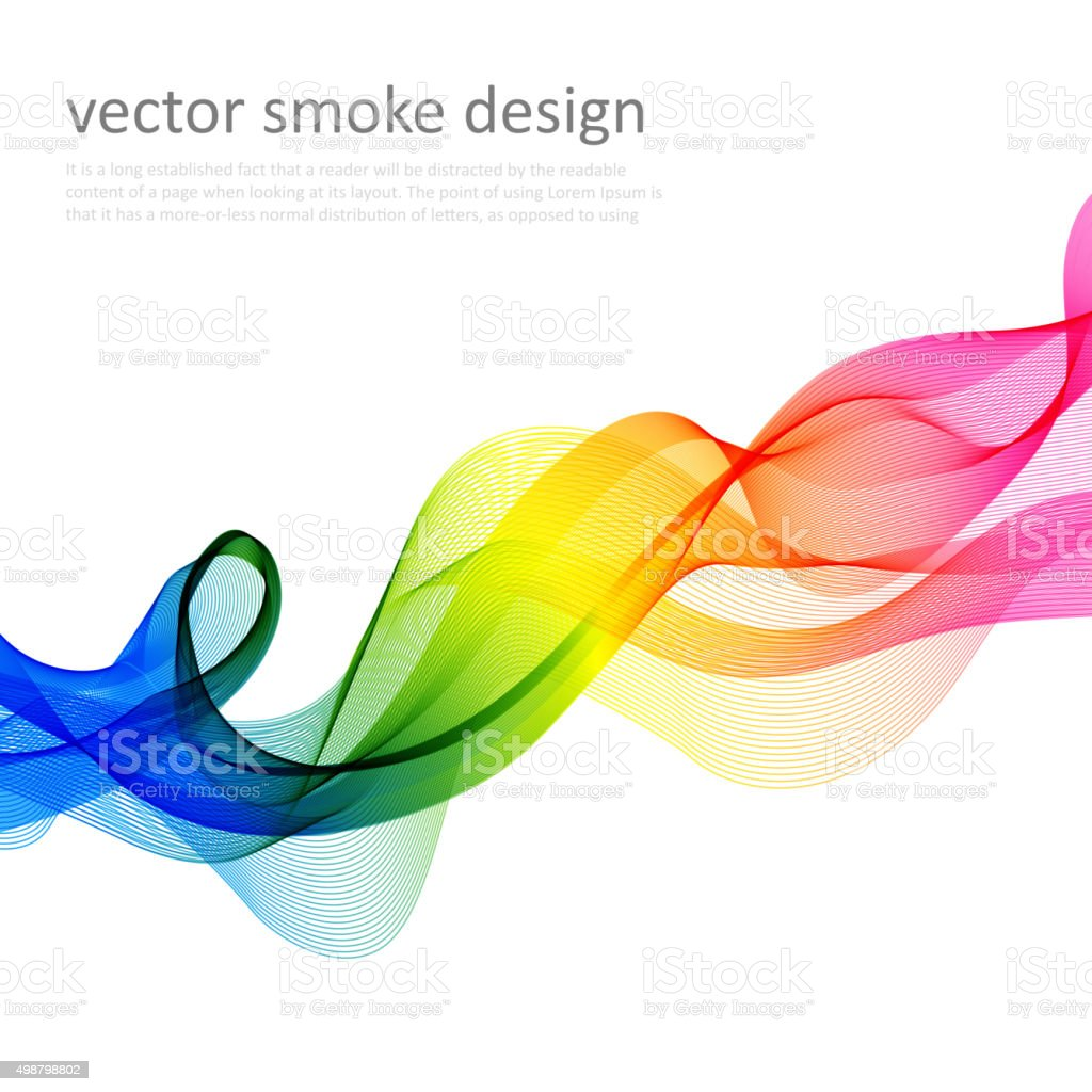 Abstract vector colorful background vector art illustration