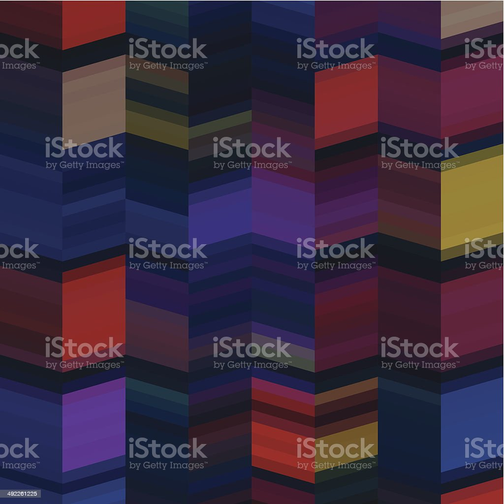 abstract vector colorful stripe pattern background vector art illustration