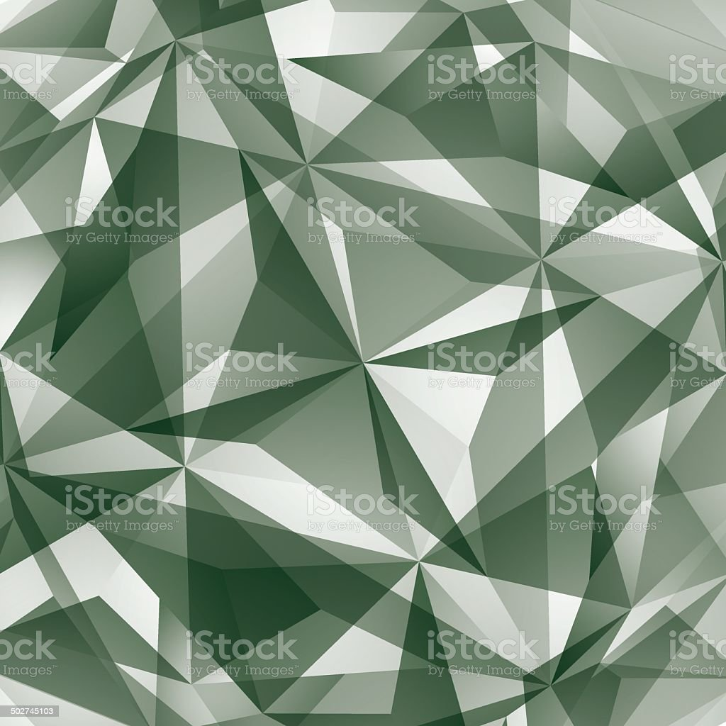 Abstract vector geometric 3D background, complicated royalty-free stock vector art