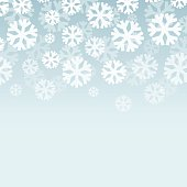 Abstract vector snowy background