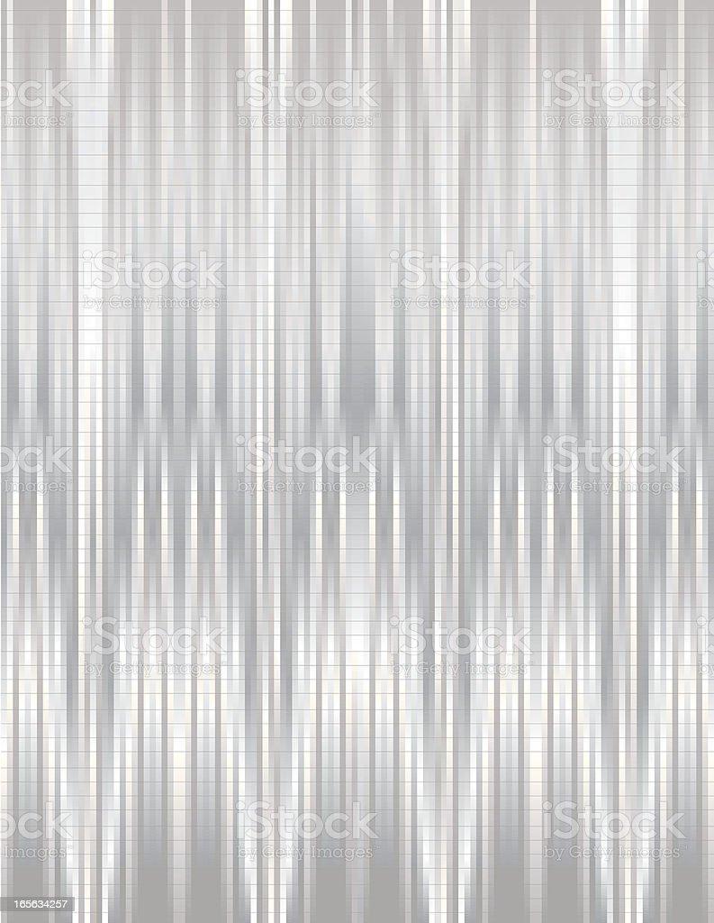 Abstrakte vertikale Linien Hintergrund-glänzenden Metallic Silver Lizenzfreies vektor illustration