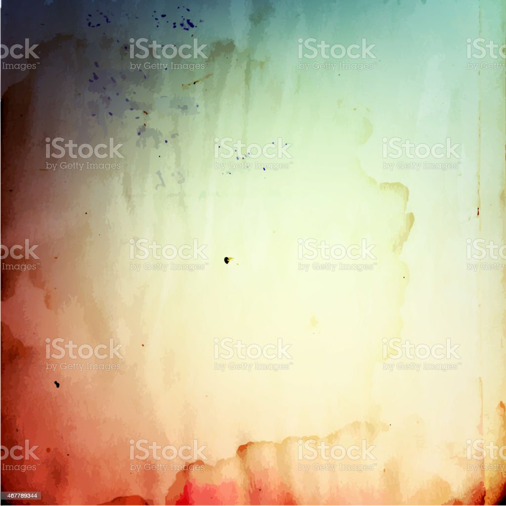 Abstract vintage grunge  paper textured background vector art illustration