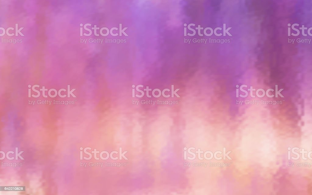 Abstract violet blur color gradient background for web, presentations and prints. Vector illustration. Wet glass effect vector art illustration