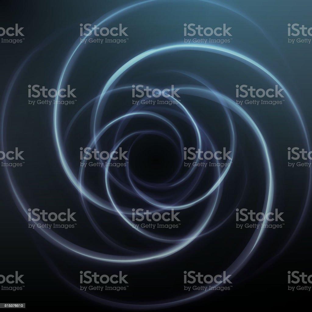 Abstract vortex background vector art illustration