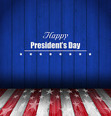 Abstract Wallpaper for Happy Presidents Day of USA