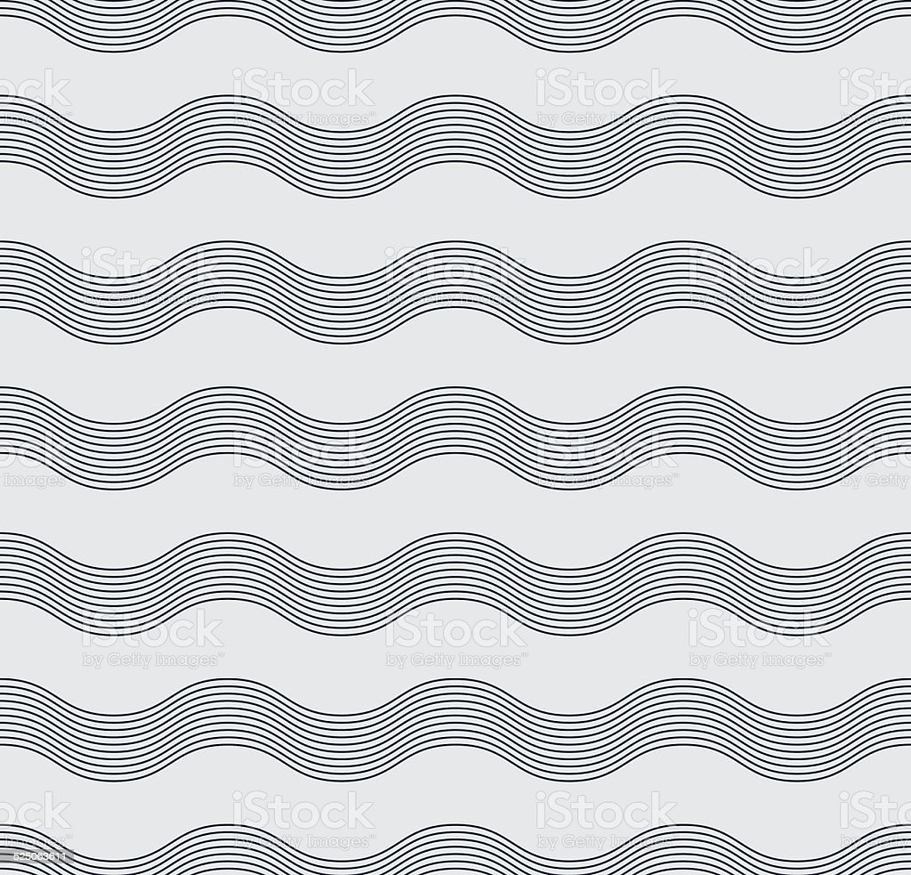 abstract wave pattern vector art illustration