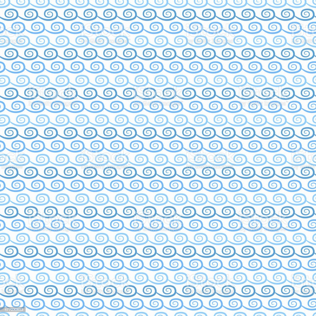 Abstract wave pattern wallpaper. Vector illustration royalty-free stock vector art