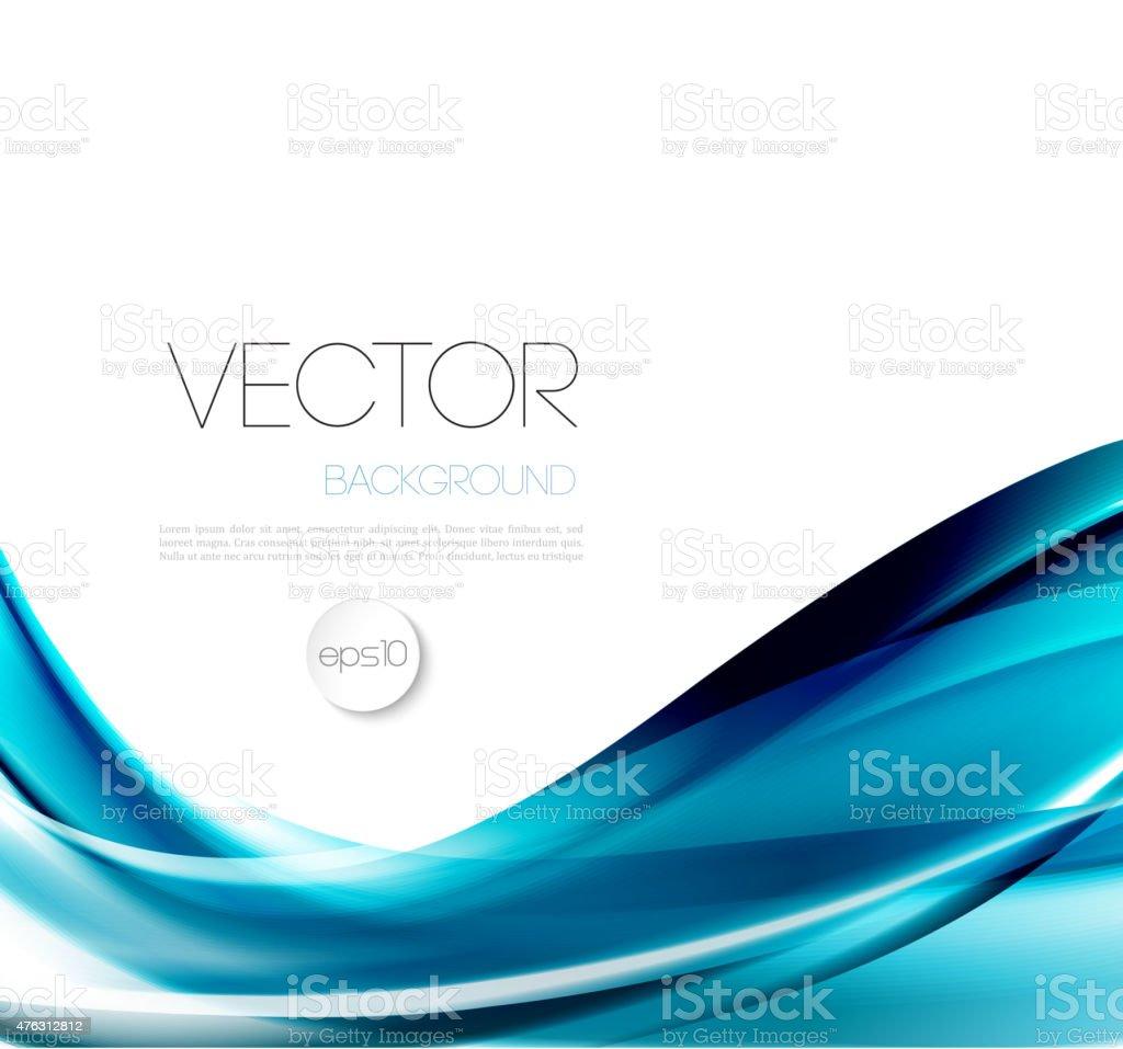 Abstract wave template  background brochure design vector art illustration