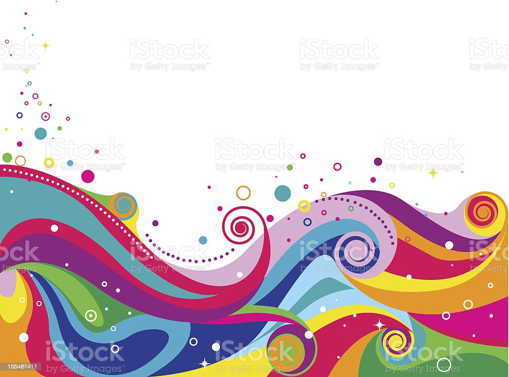 Abstract Wave royalty-free stock vector art