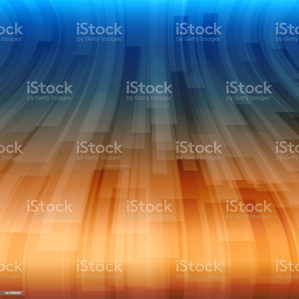 Abstract Wave vector art illustration