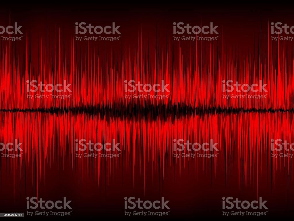 Abstract waveform vector background. EPS 8 royalty-free stock vector art