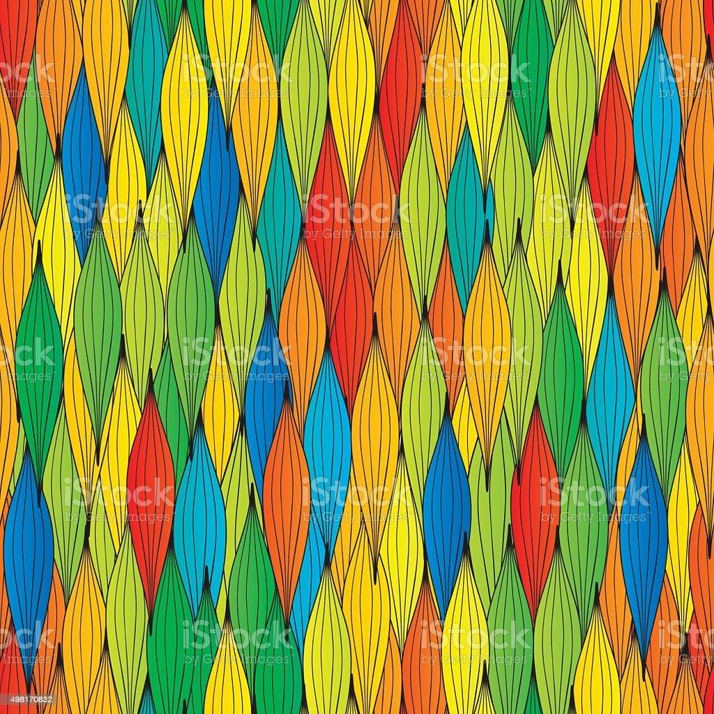 abstract waves seamless texture vector art illustration
