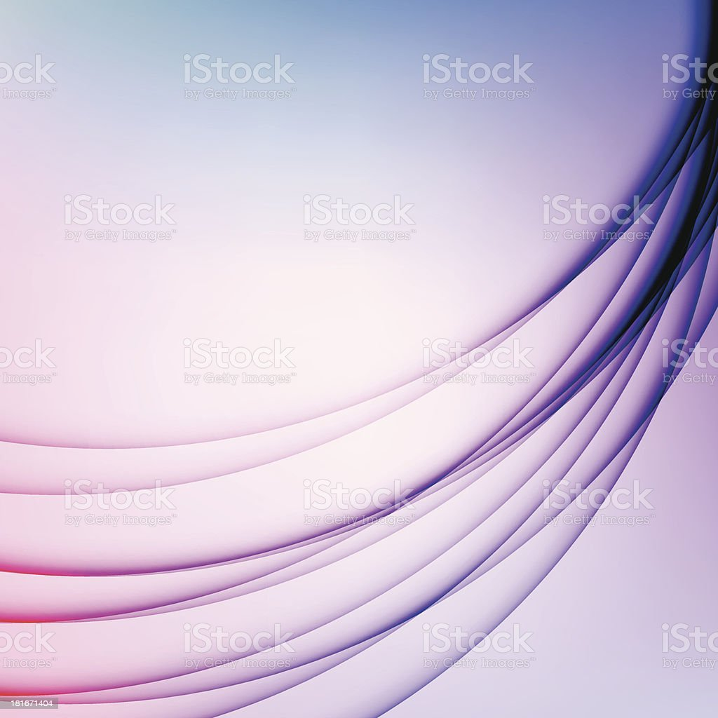 Abstract Wavy Shadows Contemporary Soft Color Background royalty-free stock vector art