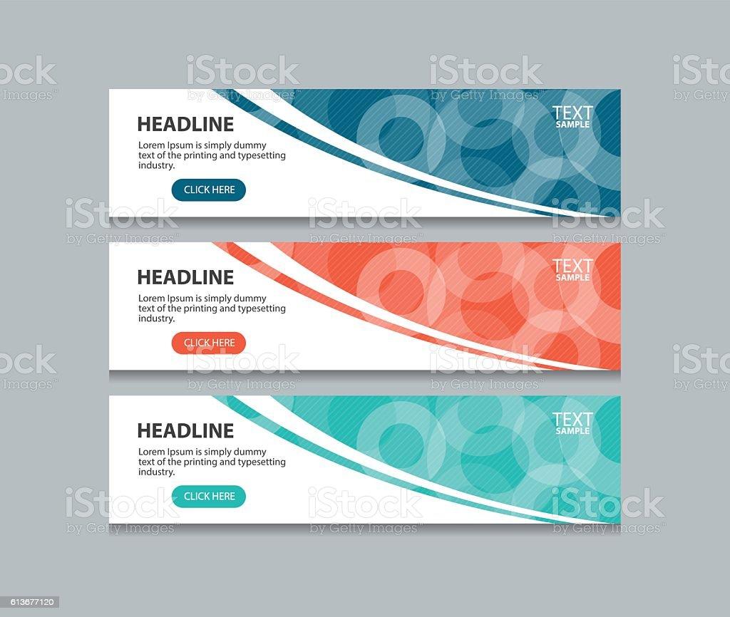 banner sample design