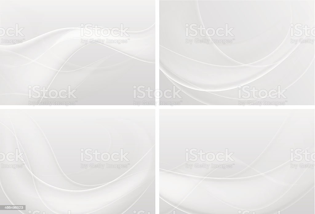 Abstract White Backgrounds vector art illustration