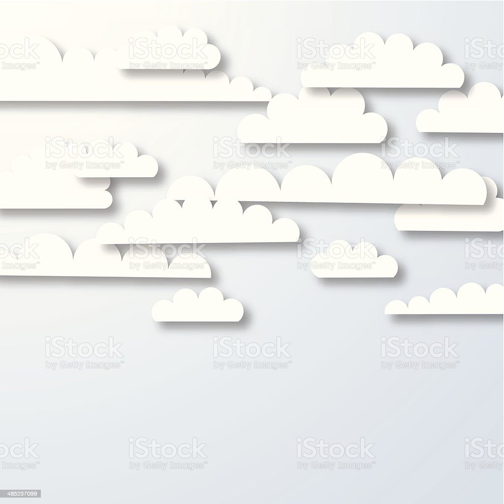 abstract white cloud pattern background royalty-free stock vector art