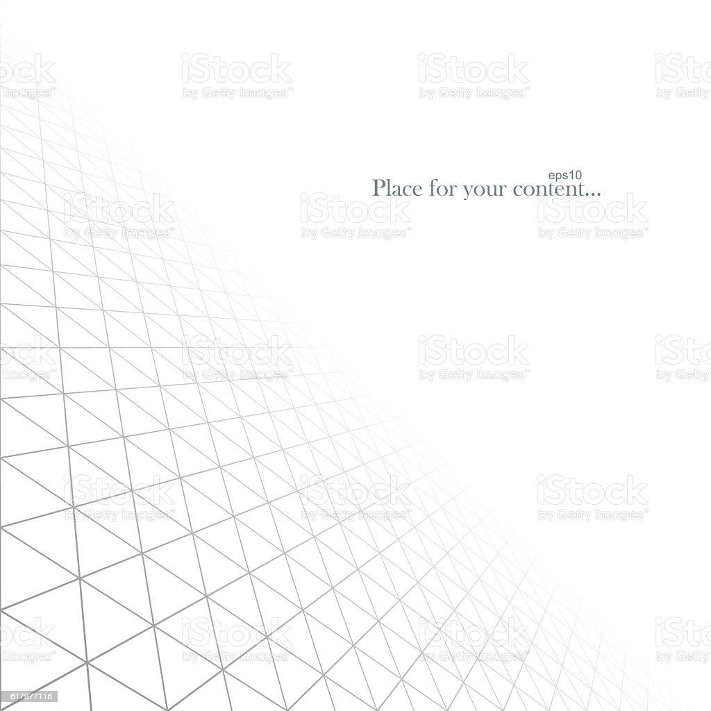 Abstract white infinite background. Vector illustration eps10. vector art illustration