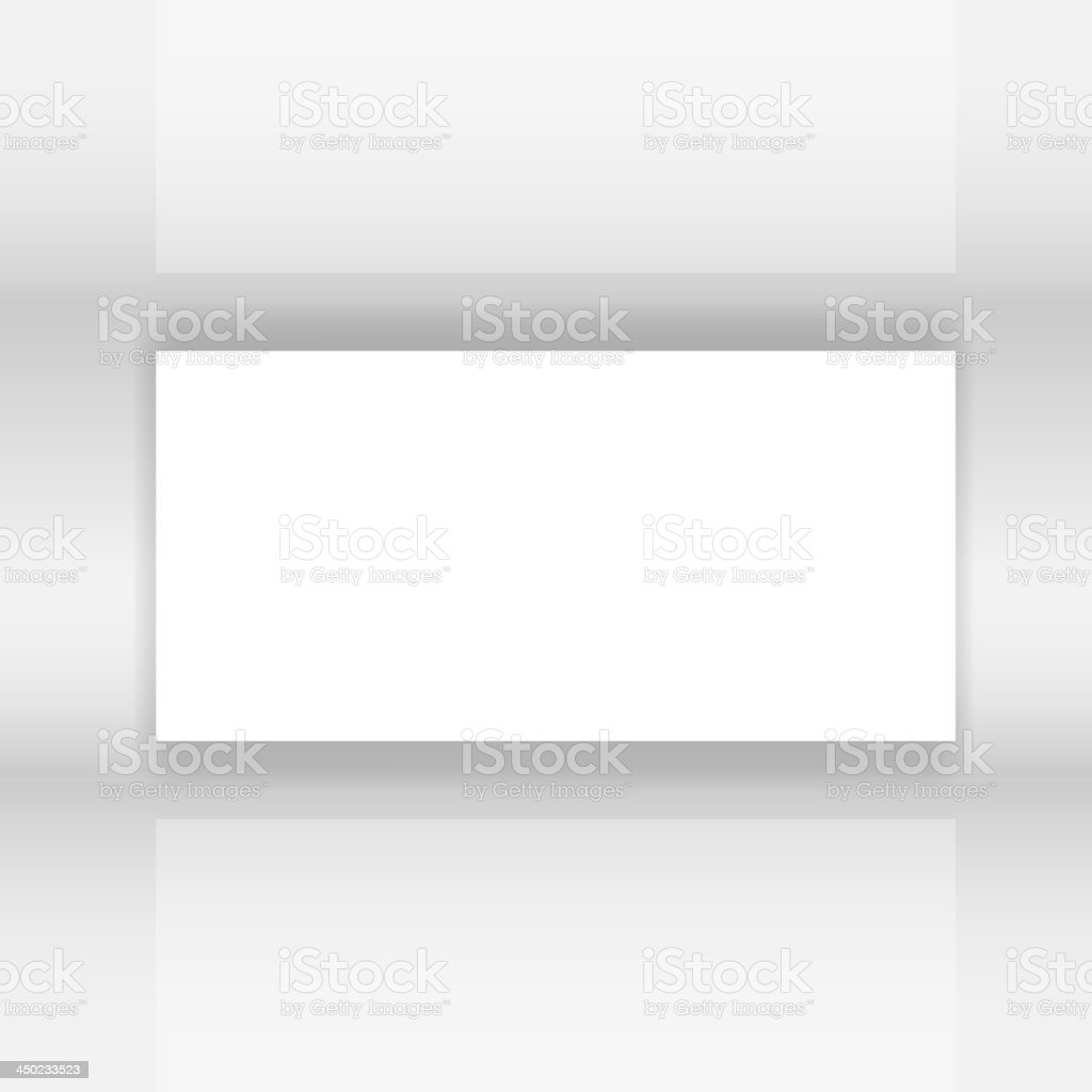 Abstract white Screen vector illustration royalty-free stock vector art