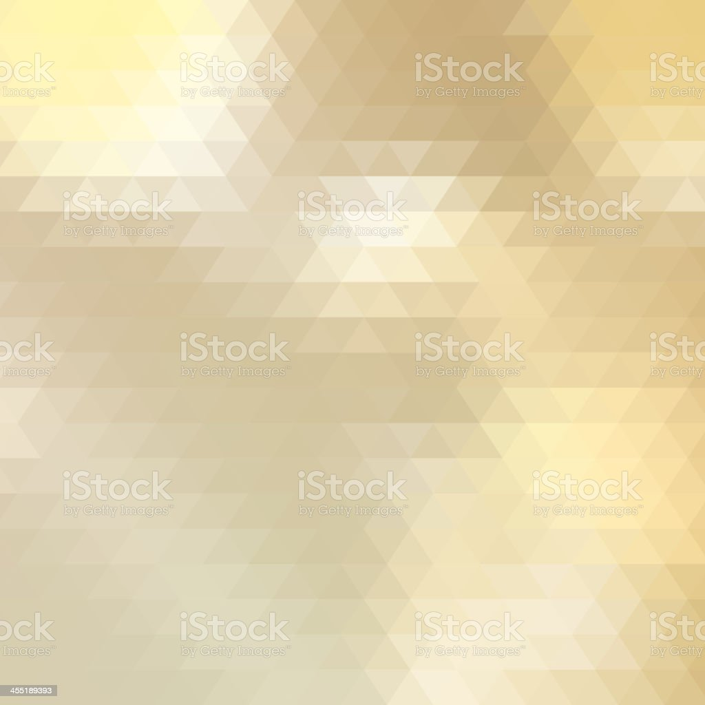 Abstract Yellow Triangle Geometrical. + EPS10 royalty-free stock vector art