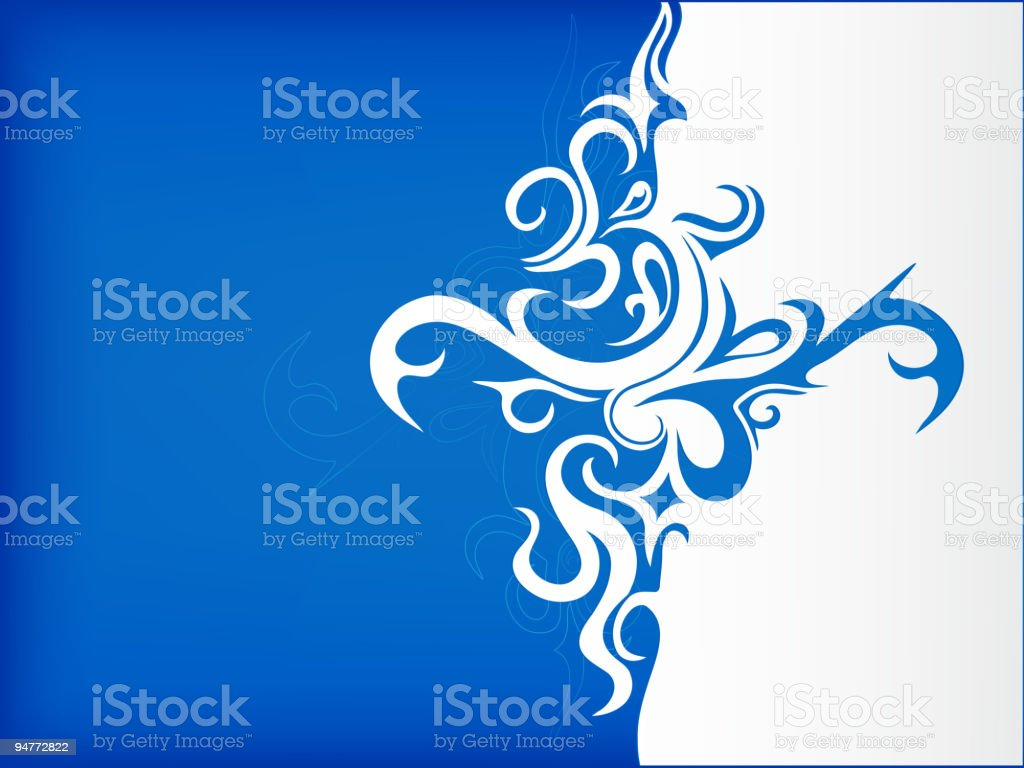 Abstraction with copyspace royalty-free stock vector art