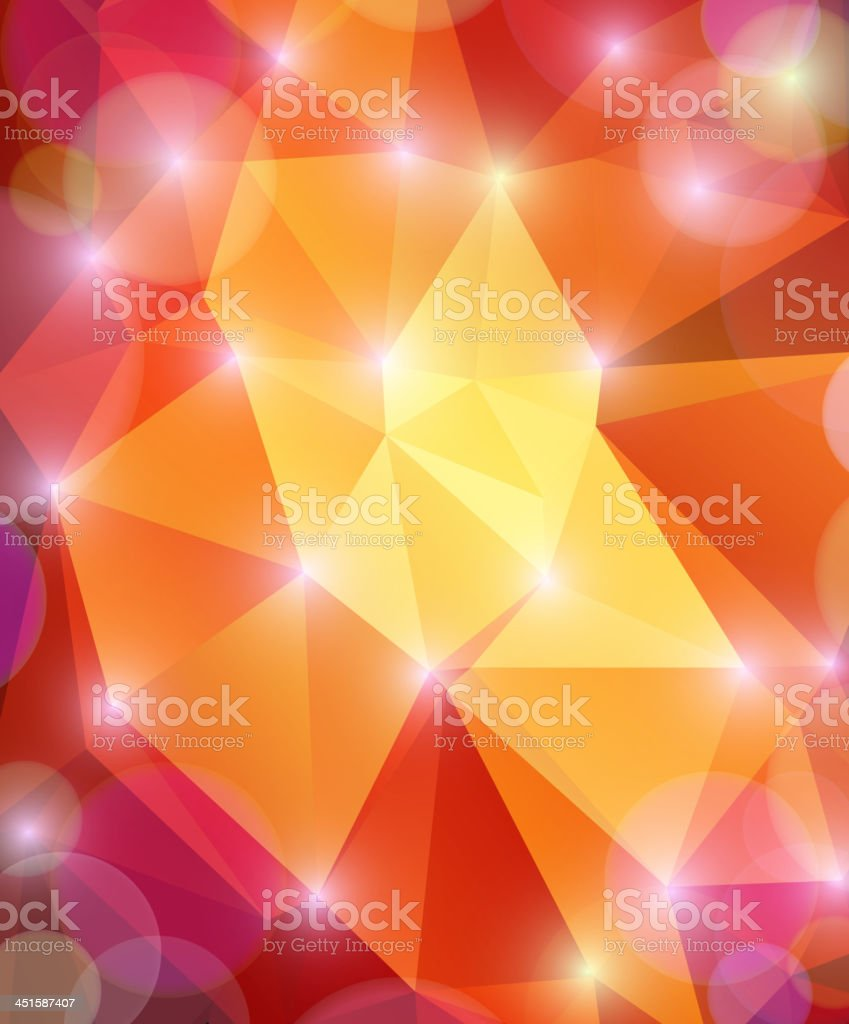 Abstractness of shining multicolored background vector art illustration