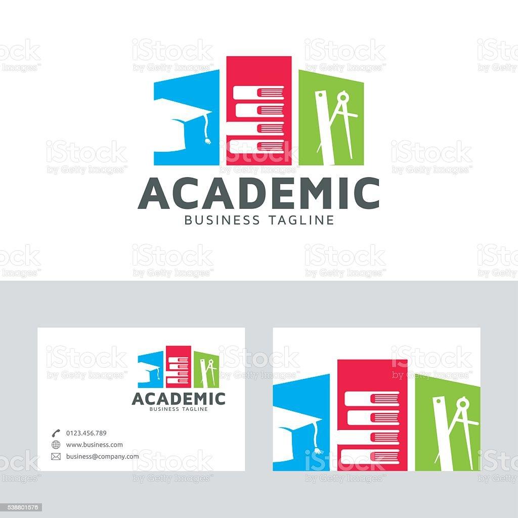 Academic education vector art illustration