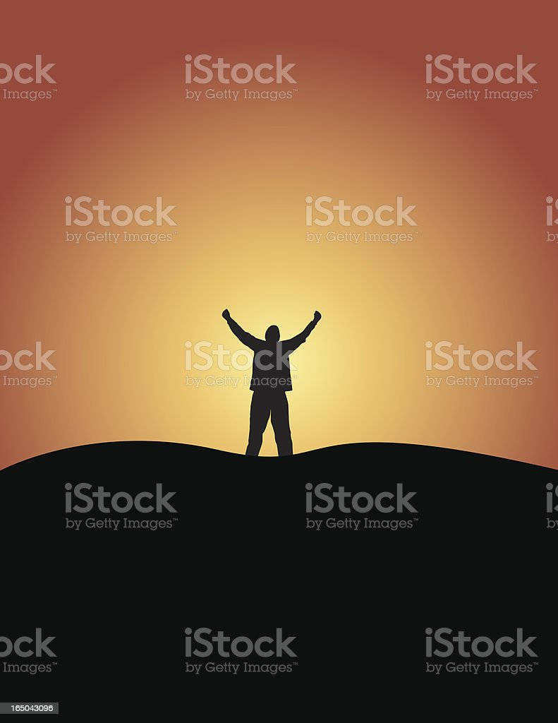 Accomplishment royalty-free stock vector art