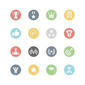 Achievement and Awards Icons : Minimal Style