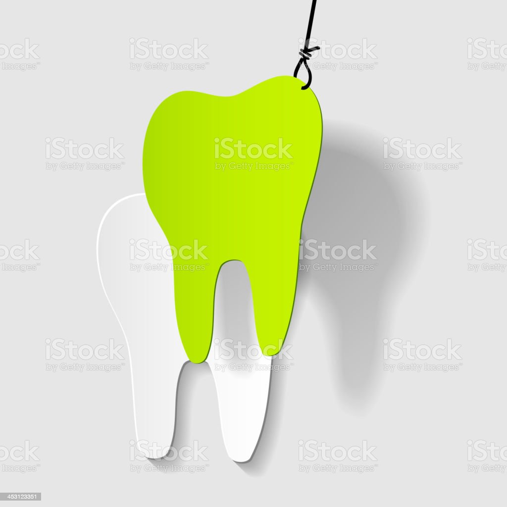 aching tooth snatch royalty-free stock vector art