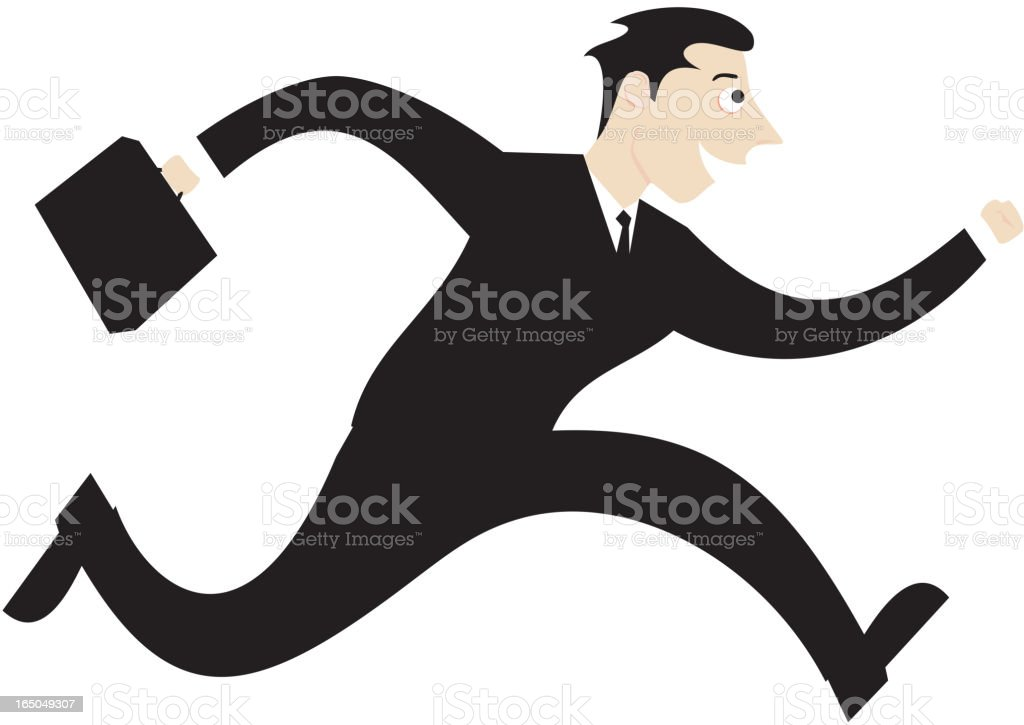 'active' salesman royalty-free stock vector art