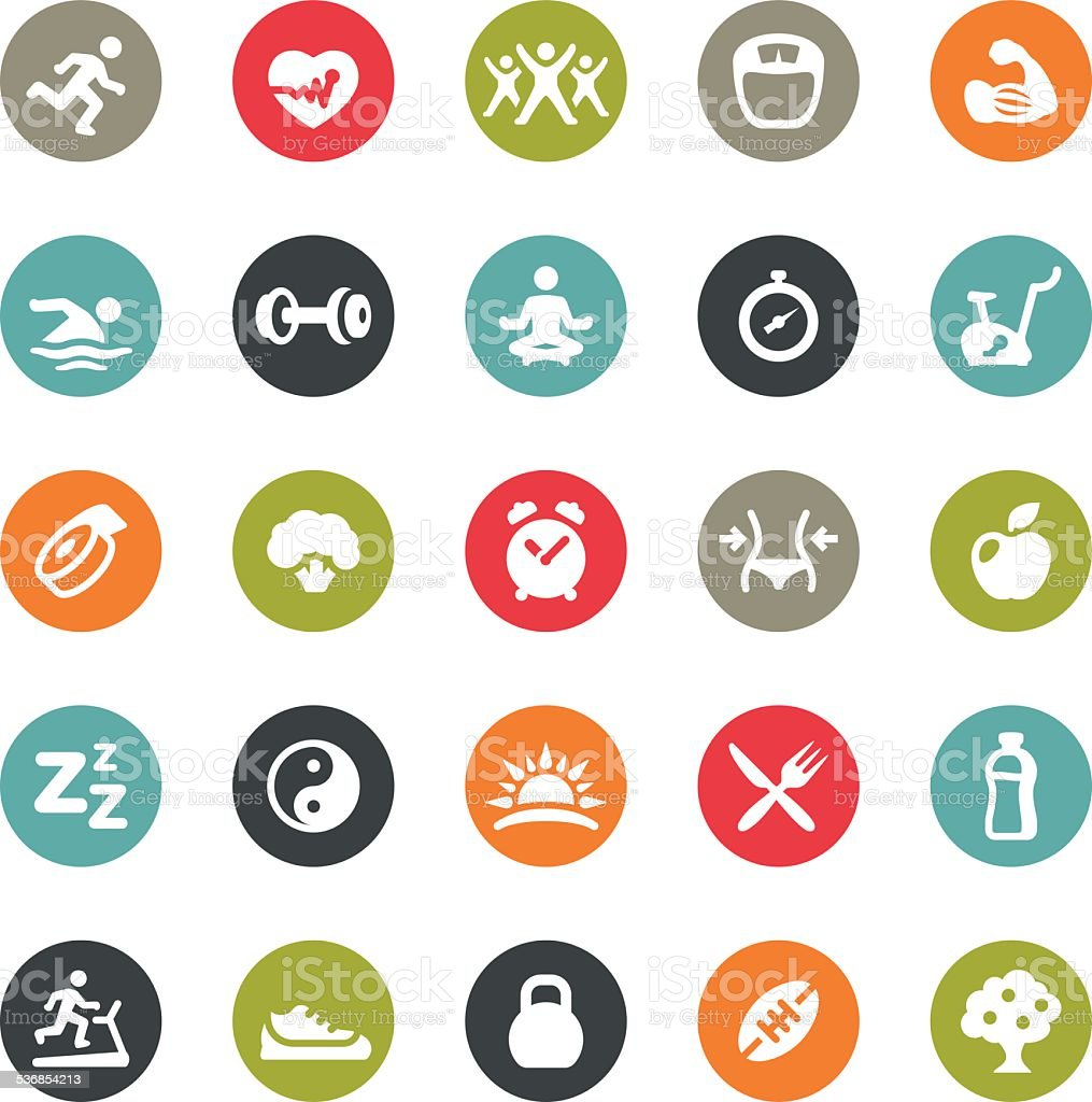 Activity and Sport related icons / Ringico series vector art illustration