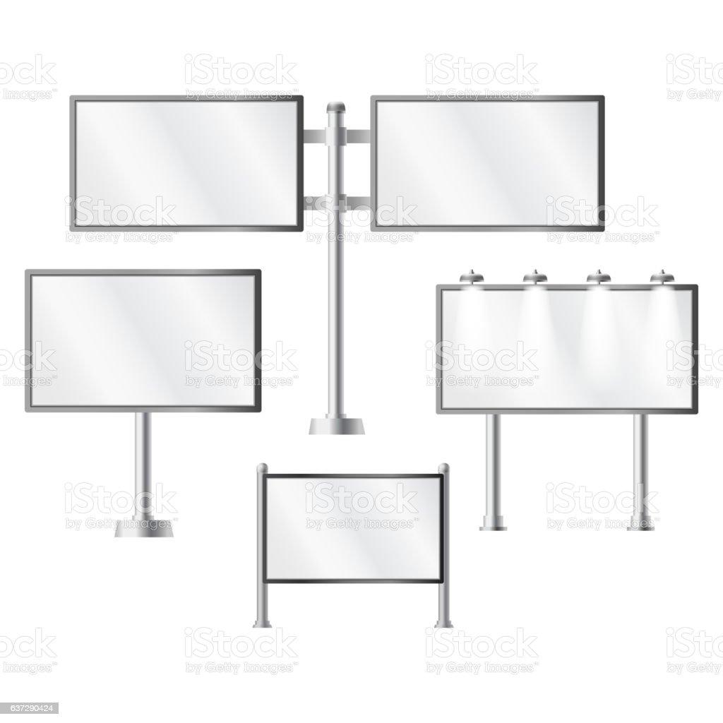 Ad banner vector illustration. vector art illustration