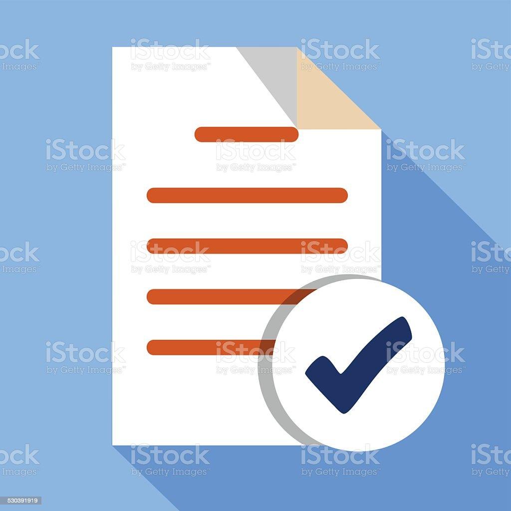 Add File Document vector art illustration