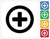 Add Icon Flat Graphic Design