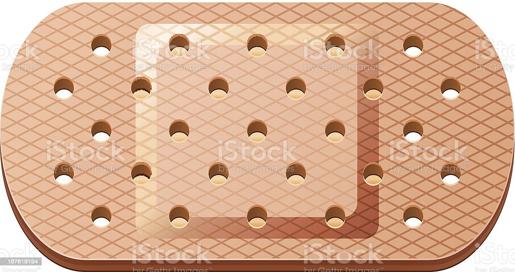 adhesive bandage royalty-free stock vector art