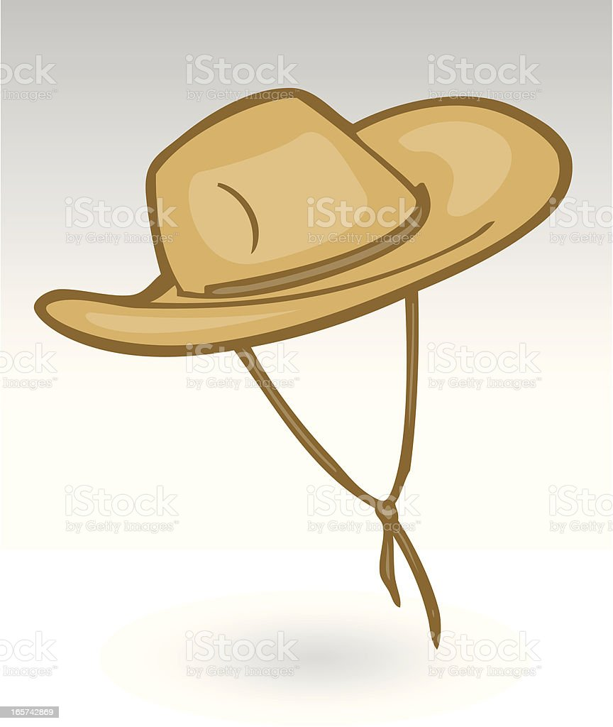 Adventure Hat royalty-free stock vector art