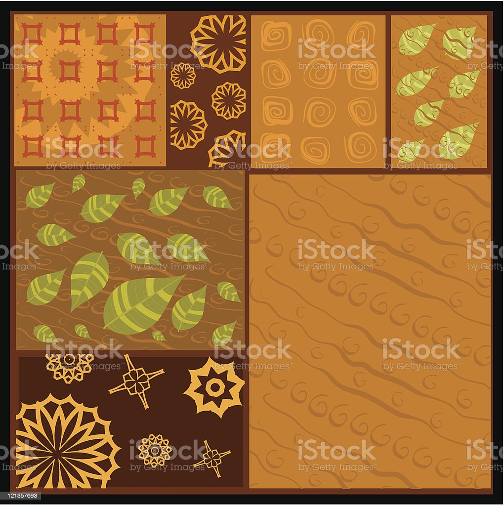 African abstract ornament royalty-free stock vector art