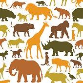 African Animals Pattern