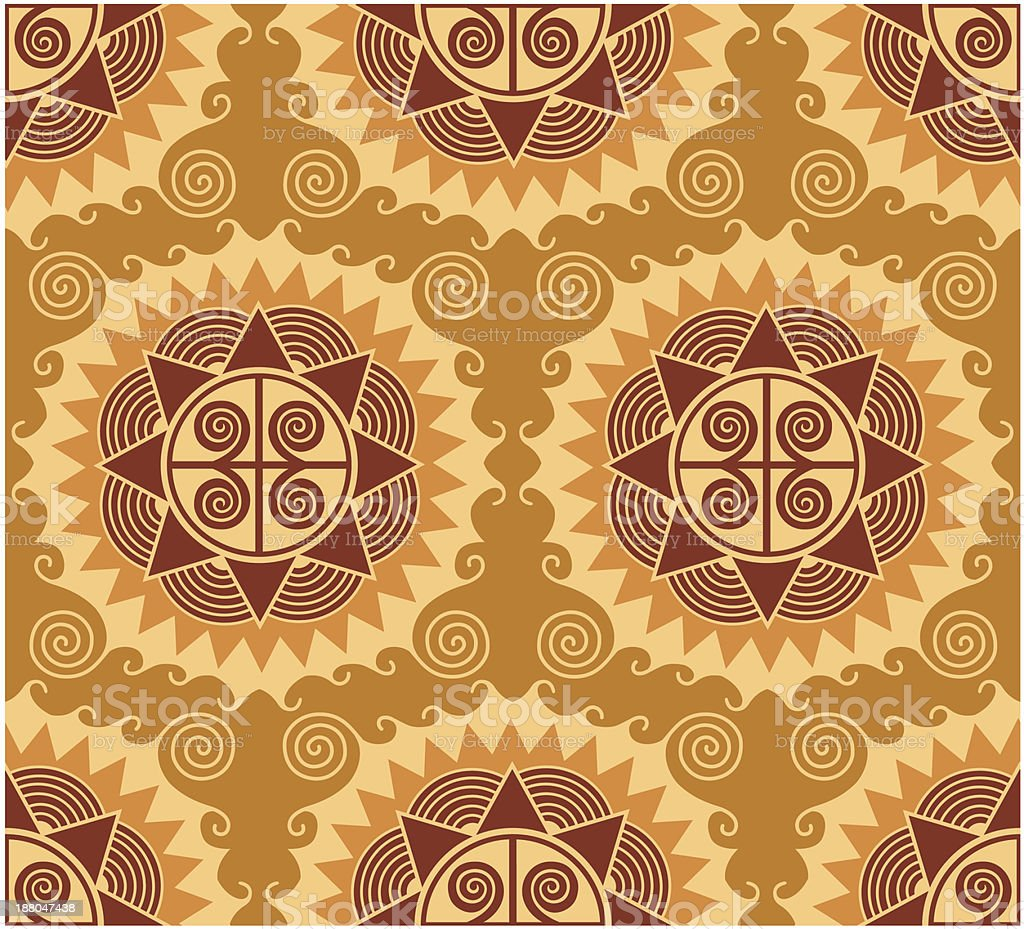 african style seamless pattern royalty-free stock vector art