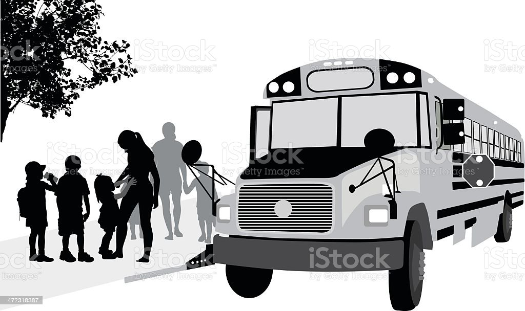 After School royalty-free stock vector art