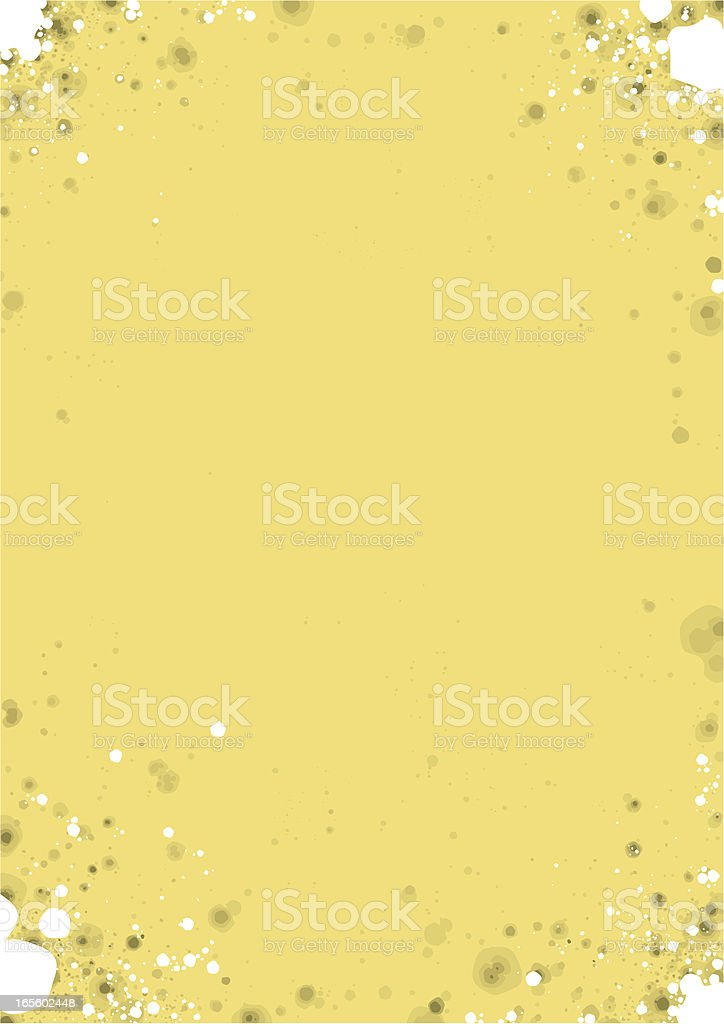Aged Paper royalty-free stock vector art