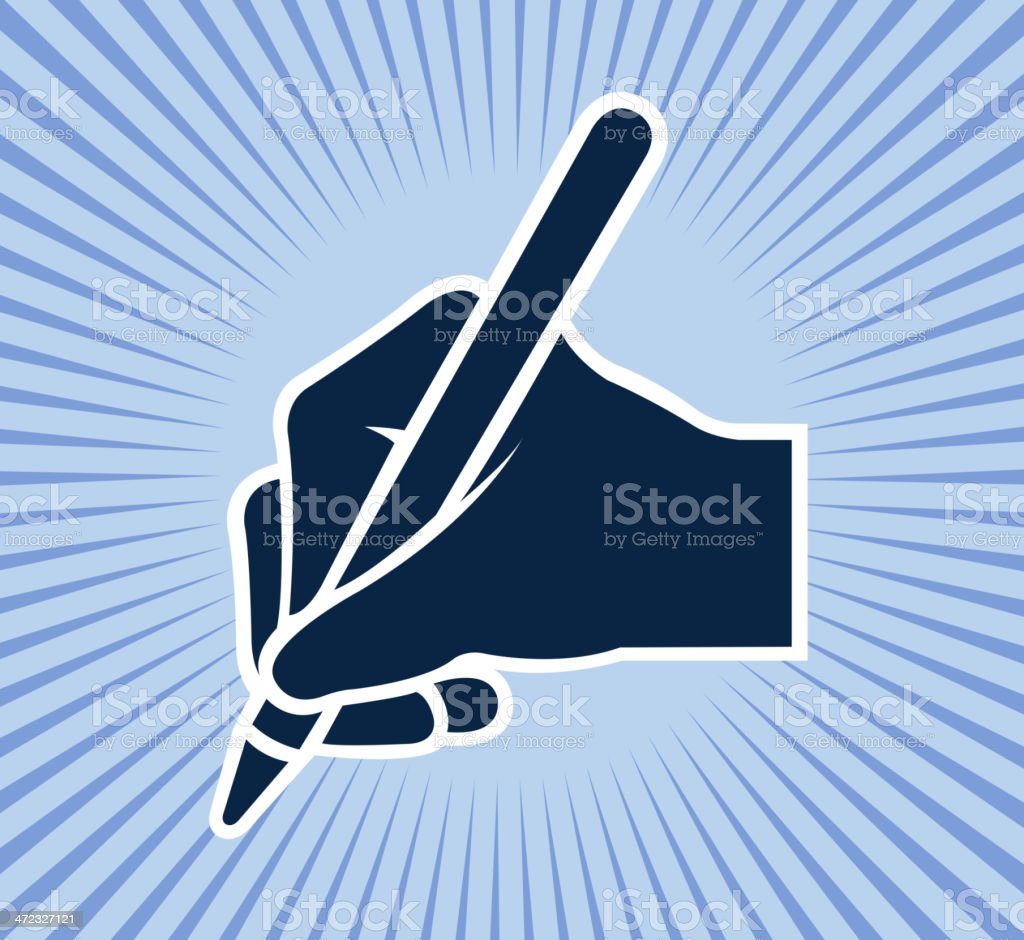 agreement sign vector art illustration