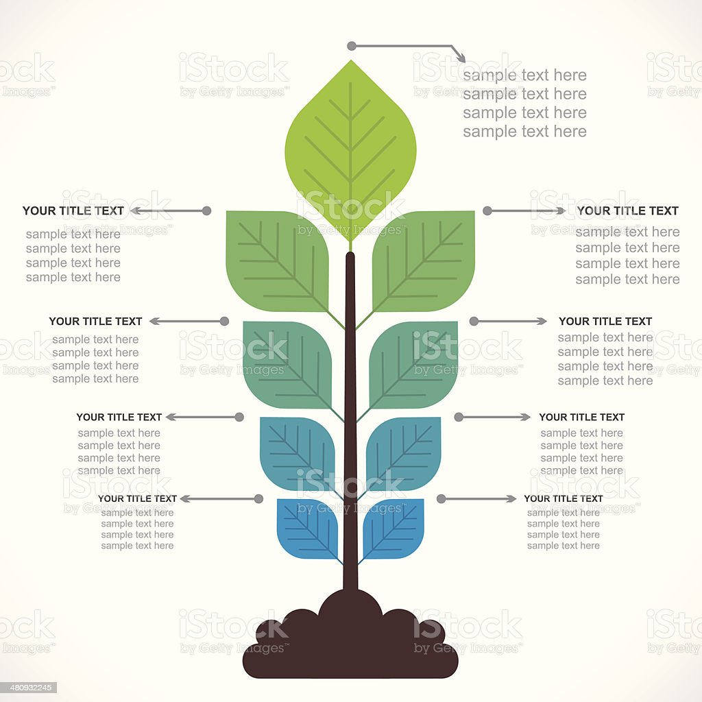 agribusiness info-graphics vector art illustration