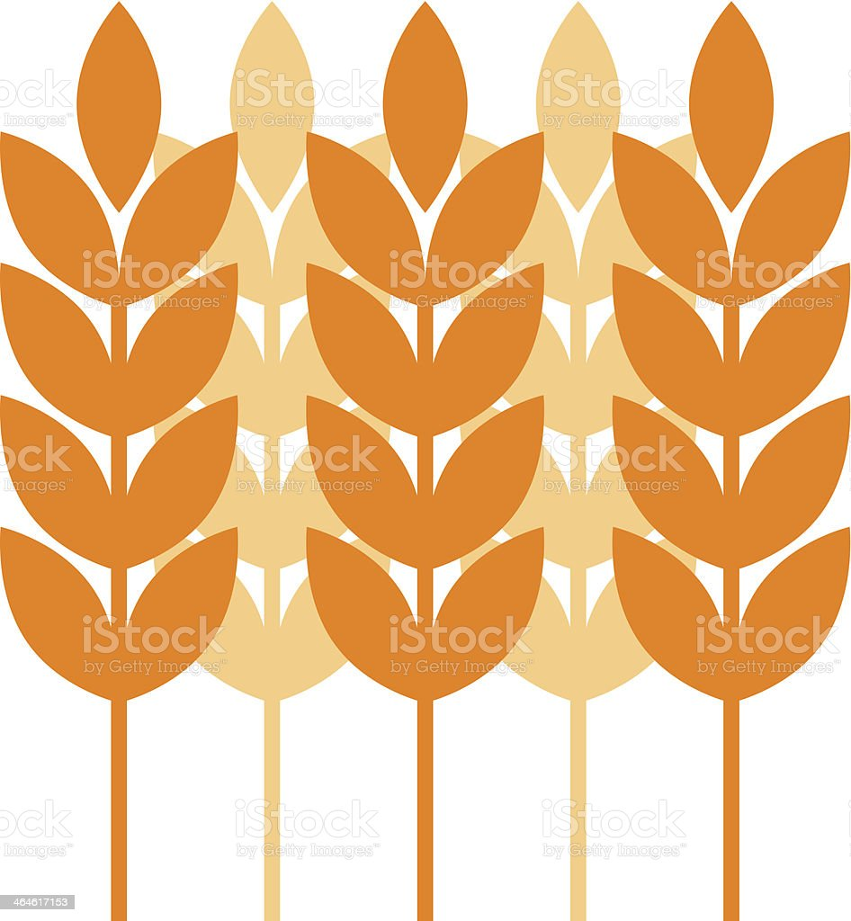 Agricultural icon vector art illustration